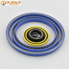 Teflon Spring Energized Seals/ PEEK spring shaft seals/POM Spring loaded Seals&UPE spring rotary seals