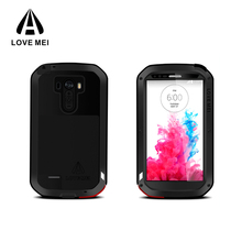Love Mei case phone cover for LG G3 custom metal aluminum water proof phone case