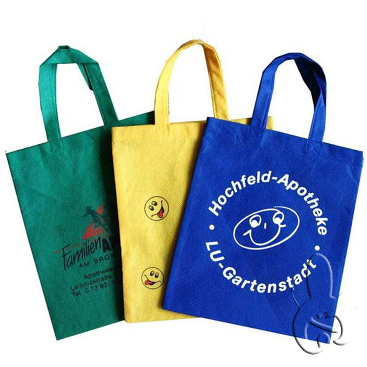 recycled custom foldable promotional pp laminated non woven shopping bag