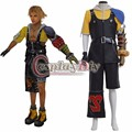 Final Fantasy 10 Tidus Cosplay Costume Adult Mens Halloween Carnival Cosplay Costume