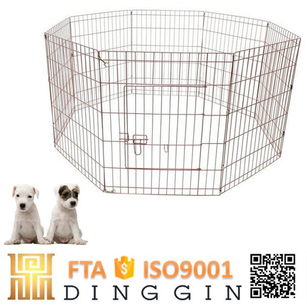 Detachable handle dog enclosure