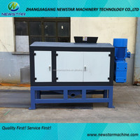 Plastic Film Squeezing Machine dewatering drying with high efficiency in PE PP film recycle washing line
