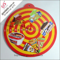 High quality wholesale promotion of different shapes personalized magnetic dart board