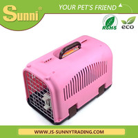 High-end dog cat carrier bag plastic cage pet