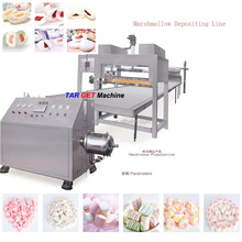 Marshmallow extruding production line