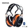 VERTAK Bluetooth FM and MP3 Stereo Earmuffs NRR 29DB Noise Cancelling Rating Electronic Hearing Protection Safety Ear Muffs