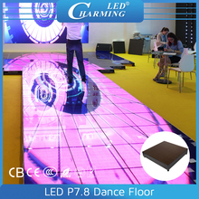 Hot sale video product led colorful dance floor for banquet, wedding, night bar