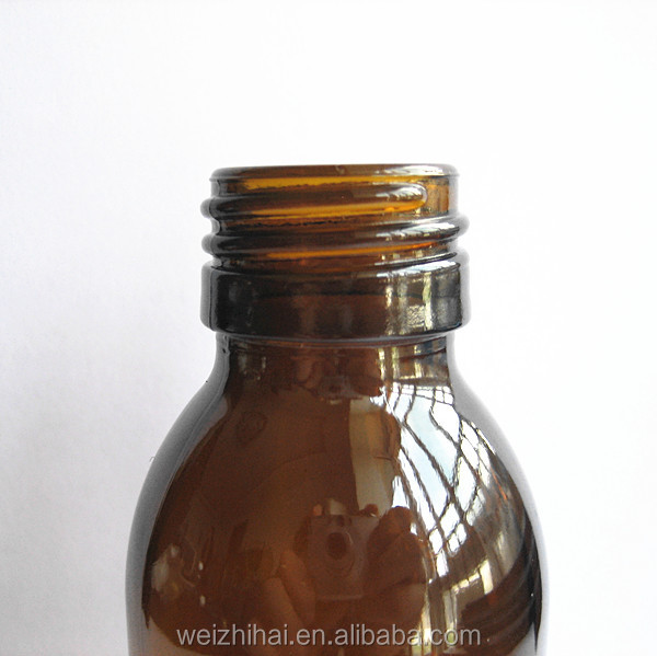 100ml Brown Beverage glass bottle