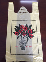 hdpe foldable printed customed plastic fashion shopping bags