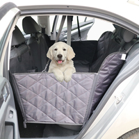 2018 July luxury waterproof scratch proof nonslip backing quilted hammock dog pet car seat cover