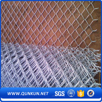 Sturdy and durable strong toughness galvanized & pvc coated chain link fence