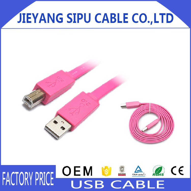 High Speed USB 3.0 connection cable A to B printer cable