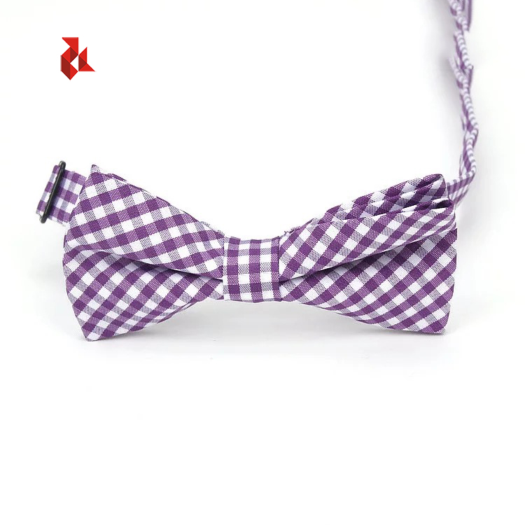 Different Adjustable Pre-tied Cotton Bow Ties for Boys Men