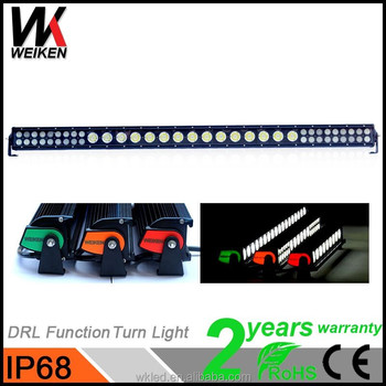 Best selling products 258w LED light bars IP68 4x4 atv UTV Jeep Truck led the lamp hybrid auto parts car accessories