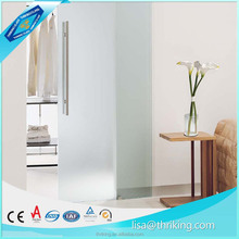 Top quality One side/both side Acid etched glass manufacturer price with CE certificates