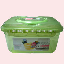 5.2L PP Plastic Sealed Storage Box /container With Handle