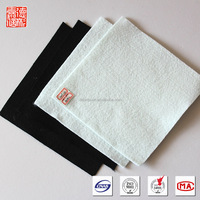 Road building non-woven polyester geotextiles fabric