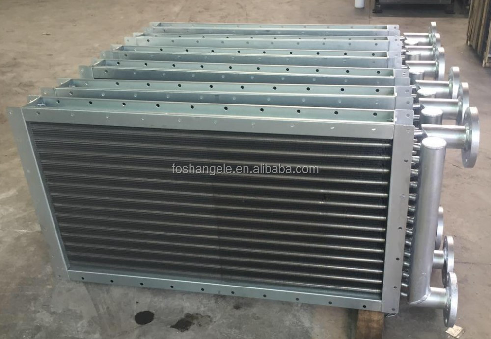 Finned tube heat aluminium radiator used for generator