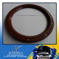 OEM Automotive and Industrial Rubber Covered O.D FKM TC Dual Lip Dustproof Hydraulic Oil Seal