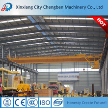 Attractive design double girder overhead crane pallets lifting