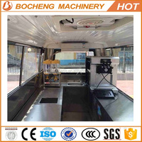 5.5Kw electric kitchen truck Mobile Kitchen