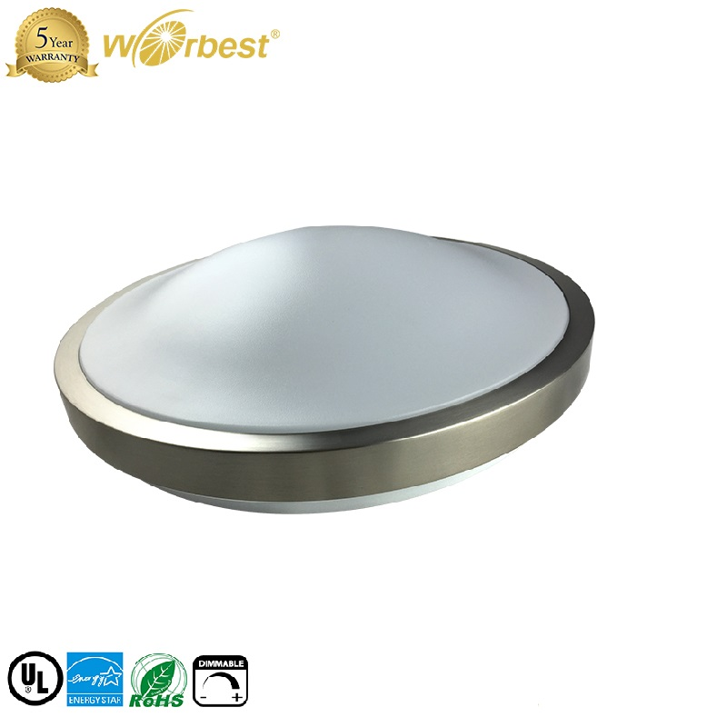 modern DOB driverless ceiling light <strong>11</strong>'' 15w 14&quot; 24w round dimmable ceiling light fixture