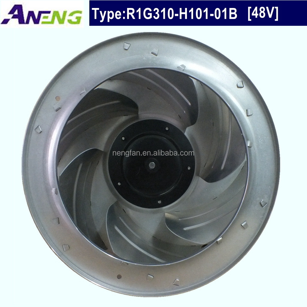 factory directly sales 310mm 48V DC cheap industrial fan for industrial ventilation