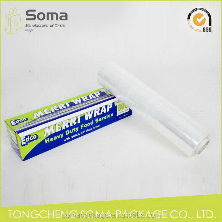 Good quality hot selling moisture barrier food grade cling film