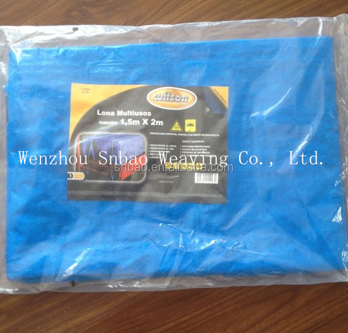 300g blue PE TARPULIN, covering HDPE laminated fabric, various usage HDPE tarp