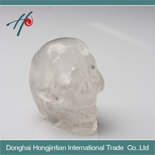 Beautiful carving crystal skull