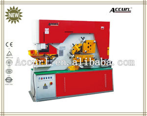 Q35Y Series cnc tube punching machine, in line hydraulic punching machines, square hole machine