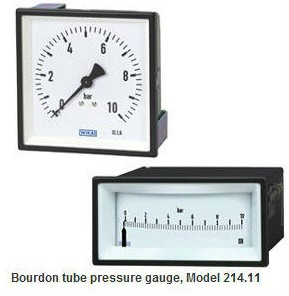 Good Price Bourdon Tube Pressure Gauge 214.11