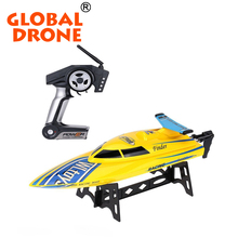 Global Drone WLtoys 911 RC Boat Plastic High Speed Racing Boat 2.4G Kids Electric Boat for Sale
