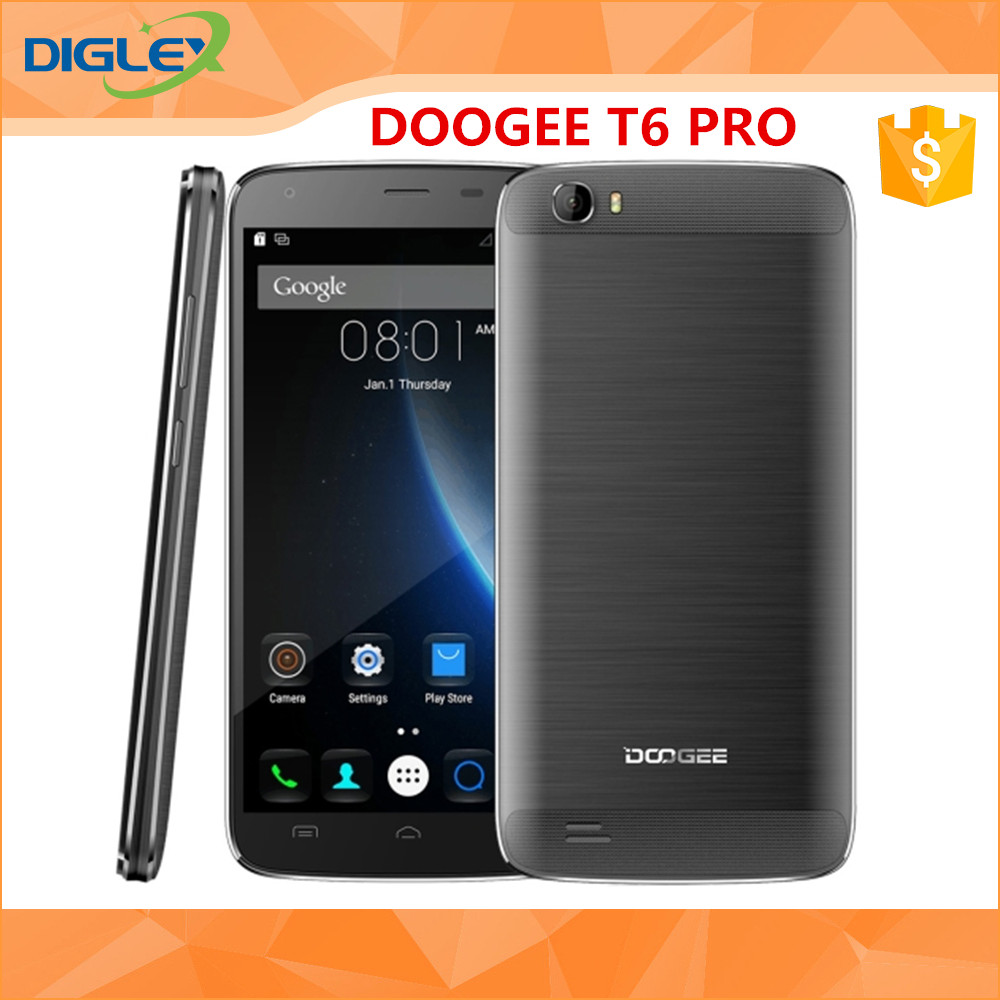 Newest Original DOOGEE T6 Pro 5.5 inch Android 6.0 RAM 3GB ROM32GB Smart Phone