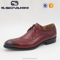 HD212-D30 WINE exotic skin shoes brand name shoe cheap name brand shoes for men