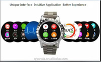 2015 Newest Design Popular Smart Watch Mobile Phone with Thermometer and Sedentary Reminder