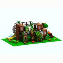 Universe Amusement special design jungle theme galvanized steel structure kids amuse park / indoor play area