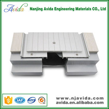 Airport expansion joint cover in building expansion joint system