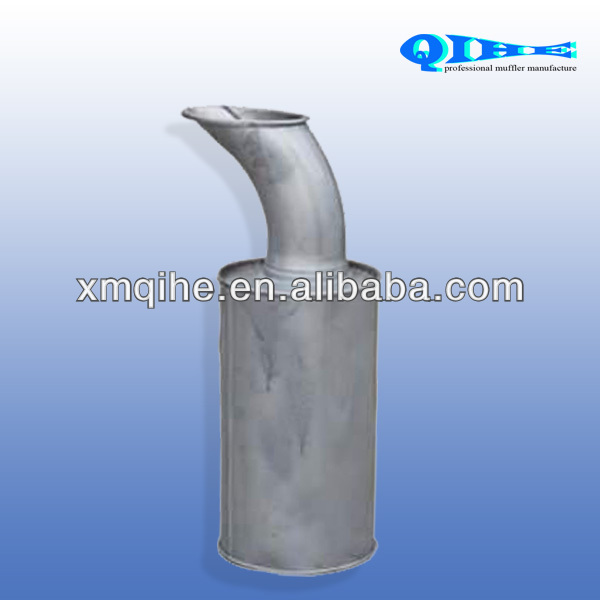 Aluminized steel muffler for volvo