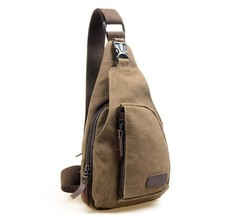 High Quality Canvas Messenger Bag For Ipad Vertical Messenger Bags For Men Outdoor Casual Leisure One Shoulder Strap Bag