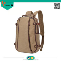 cool designer retro and british style canvas school backpacks for university students wholesale china