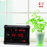 15 Years Brand 2015 New Design HC-005 Led Digital Table Calendar