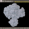 white marble roman decorative wall relief sculpture
