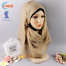 Zakiyyah FX059 Custom Scarf No Minimum Cotton Hijab Scarves Muslim Sexy Tube