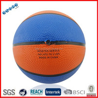 Rubber basketball balls being made is best for Kids
