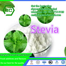 Food & beverage additive stevia leaf extract stevioside white powder