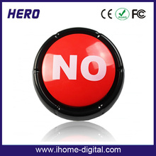 Promotion custom custom sound button sound recording device for toy factory