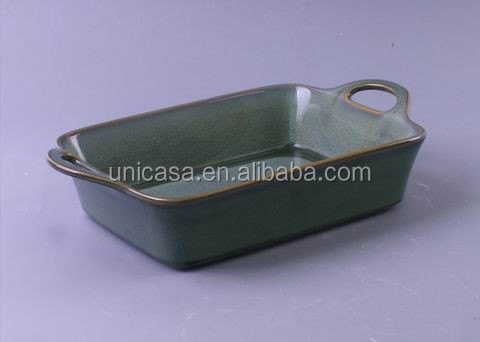 UNICASA Best Oven Safe Rectangle Ceramic Bakeware