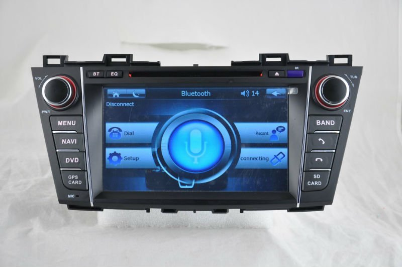 WITSON mazada 5 car dvd gps navigation with Auto Rear View Function