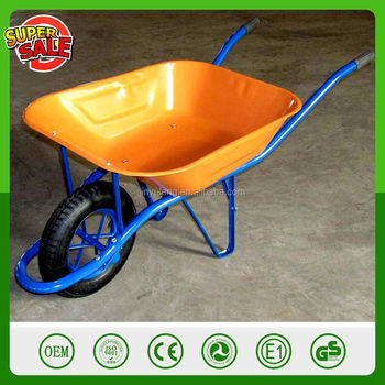 CHINA QingDao Popular model WB6400 wheelbarrow for sales construction tools